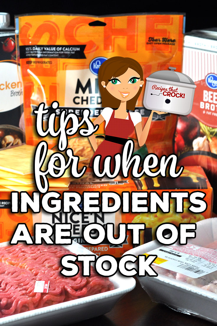 If the ingredient you need is just not available! What are you to do? What substitutions work? Check out these great tips for substitutions! via @recipescrock