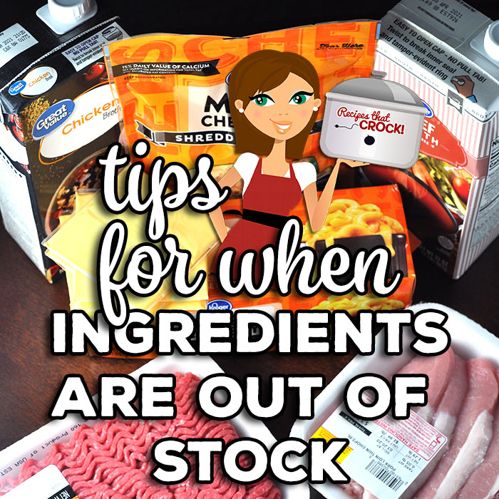 If the ingredient you need is just not available! What are you to do? What substitutions work? Check out these great tips for substitutions!