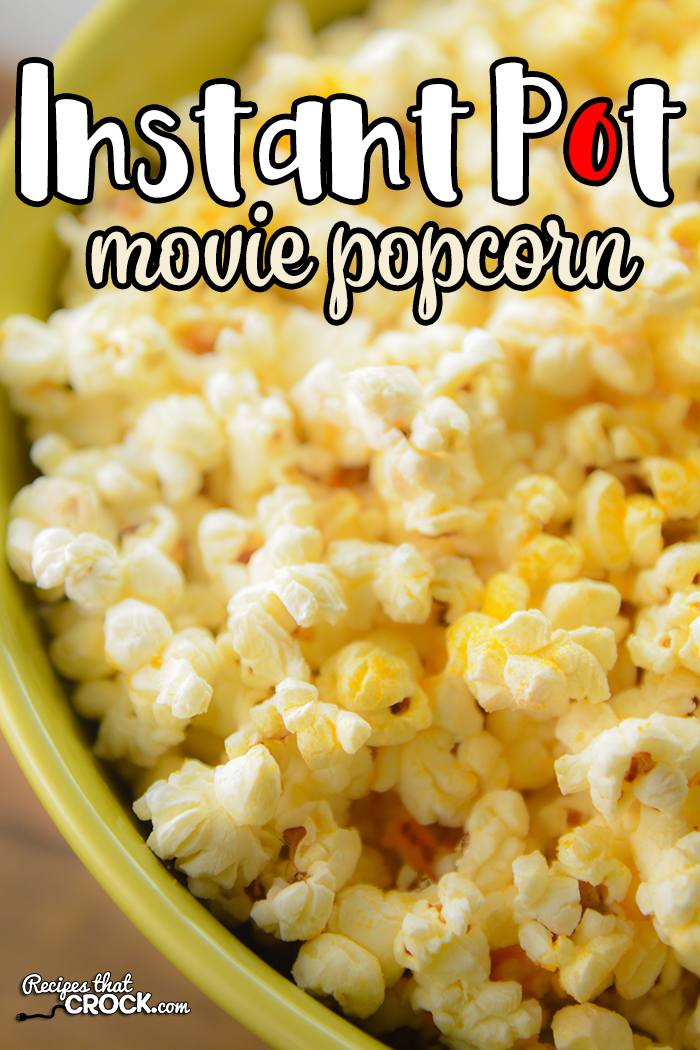 Are you looking for a way to make movie popcorn at home? Our Ninja Foodi Popcorn Recipe is a super simple way to make homemade popcorn in any electric pressure cooker, including instant pot. I have vowed never again to make microwave popcorn. This recipe is just as easy, less likely to burn and tastes SO MUCH better! via @recipescrock
