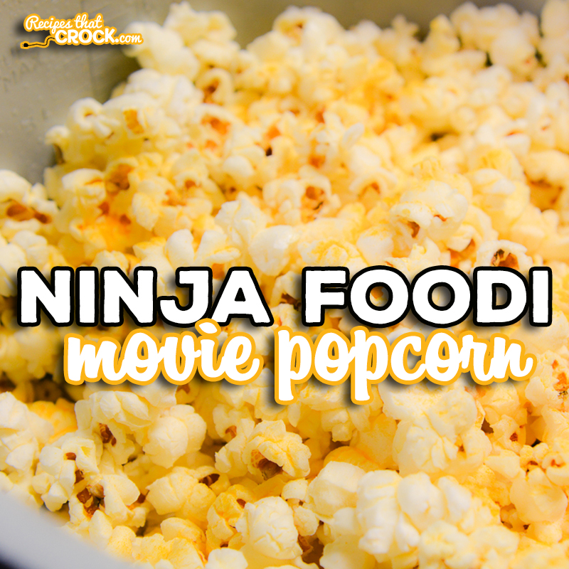 Are you looking for a way to make movie popcorn at home? Our Ninja Foodi Popcorn Recipe is a super simple way to make homemade popcorn in any electric pressure cooker, including instant pot.