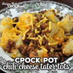 This Crock Pot Chili Cheese Tater Tots recipe is easy and delicious. Everyone will be asking for more and for you to make it again and again!