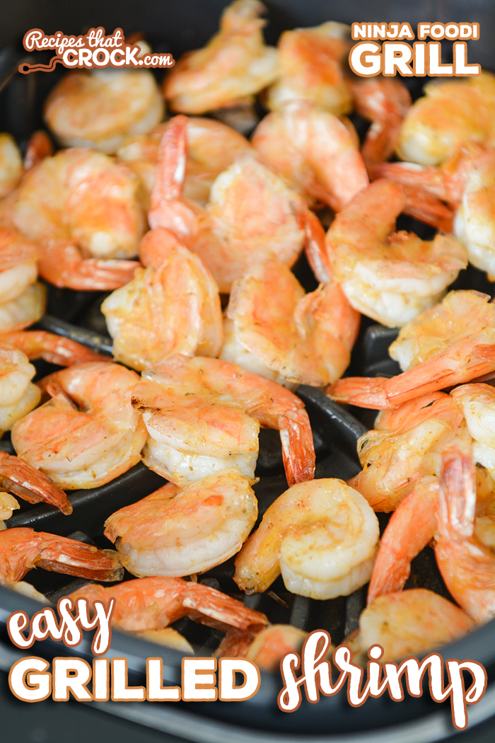 Do you love grilled shrimp and want an easy recipe to make it at home? Our Easy Grilled Shrimp couldn't be simpler. Cook on your traditional outdoor grill or Ninja Foodi Grill. via @recipescrock