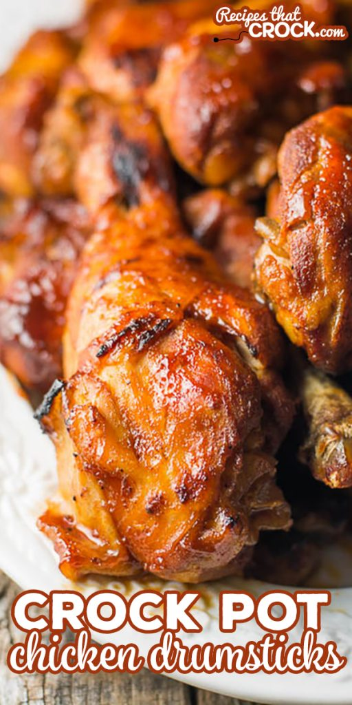 Crock Pot Chicken Drumstick Recipe: Easy crock pot recipe for chicken legs. So flavorful and our trick to getting that off the grill taste!