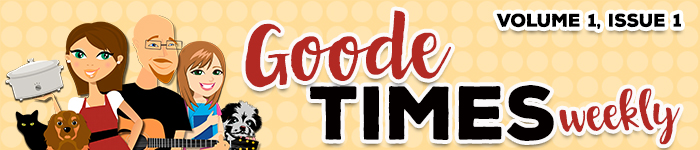 Goode Times Weekly is an e-magazine dedicated to Recipes That Crock Readers and As Goode As It Get Viewers. This weekly collection of recipes, videos and stories is meant to encourage, and inspire all of us to Laugh Often, Eat GOODe Food and Speak Life!