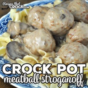 This Crock Pot Meatball Stroganoff recipe became an instant favorite in my house. With how easy and delicious it is, I'm sure it will be a favorite in your house too!