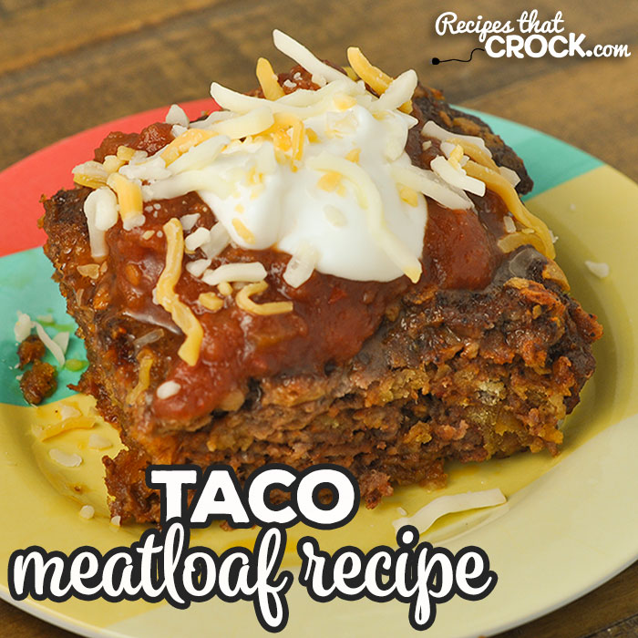 This Taco Meatloaf is the oven recipe for our reader favorite Crock Pot Taco Meatloaf. Same great flavor, just made in the oven instead!