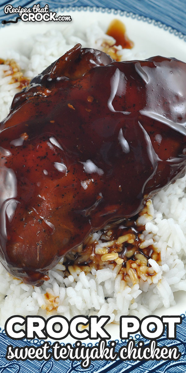 Oh my word folks! This Crock Pot Sweet Teriyaki Chicken recipe is divine! The flavor of the sauce takes this dish over the top! You are gonna love it! via @recipescrock