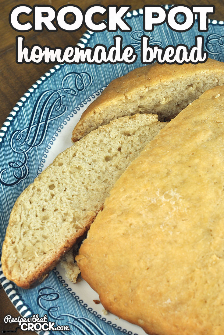 This Homemade Crock Pot Bread is so simple to make! Combine that with the amazing flavor, and you will be making this recipe again and again! via @recipescrock