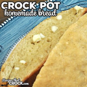 This Homemade Crock Pot Bread is so simple to make! Combine that with the amazing flavor, and you will be making this recipe again and again!
