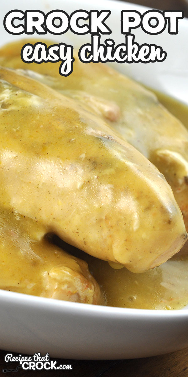 If you are looking for an easy and delicious recipe for some chicken, then you have come to the right place! We love this Easy Crock Pot Chicken! via @recipescrock