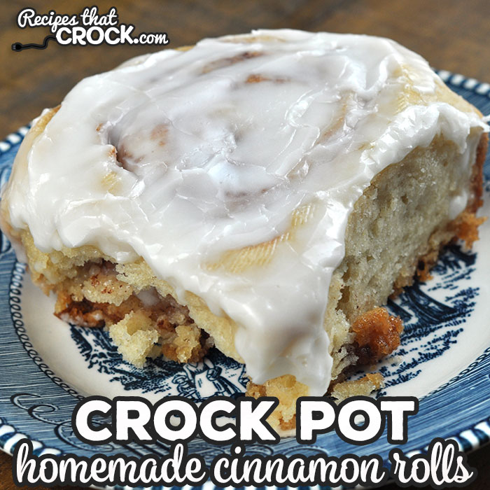 These Homemade Crock Pot Cinnamon Rolls are absolutely delicious and can be made when on vacation or anytime your oven is not available!