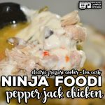 Our Ninja Foodi Pepper Jack Chicken (Electric Pressure Cooker - Low Carb) is a long time reader favorite. Tender chicken, flavorful veggies and spicy pepper jack cheese make this one pot meal a regular on our meal rotation.