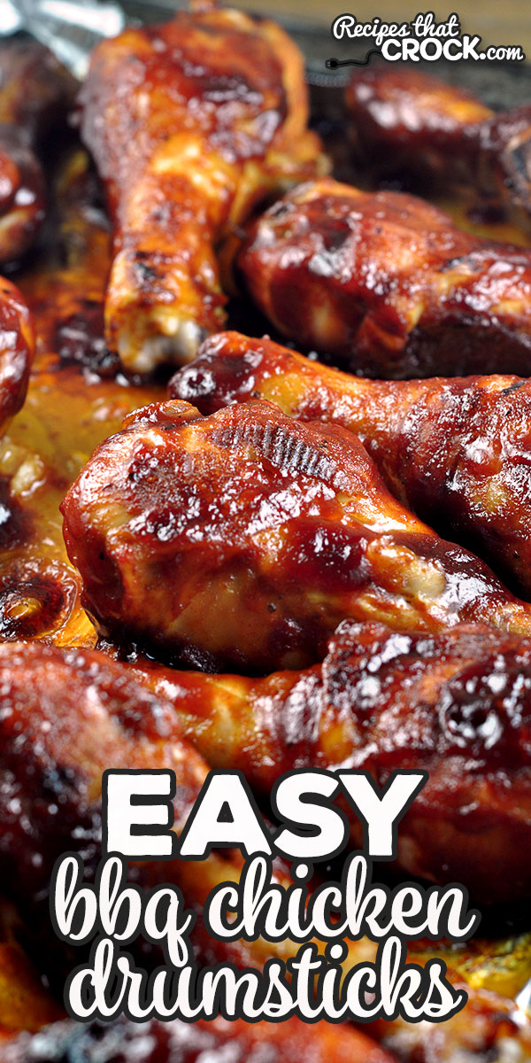 Looking for a tried and true recipe that gives you delicious and juicy drumsticks? Check out this Easy BBQ Chicken Drumsticks recipe! Oh my yum! via @recipescrock