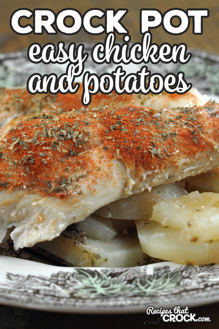If you are looking for a recipe an easy that is delicious, check out this Easy Crock Pot Chicken and Potatoes recipe! Yum! via @recipescrock