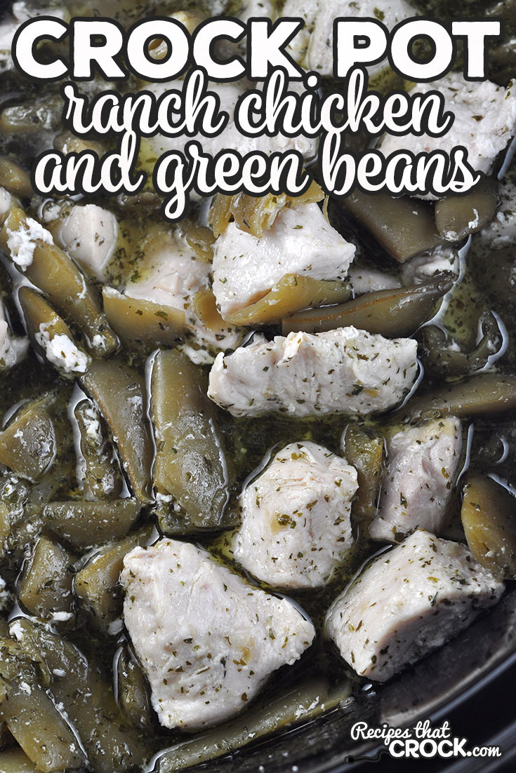 If you love a delicious recipe that is super simple to put together, then you are going to love this Ranch Crock Pot Chicken and Green Beans recipe! via @recipescrock