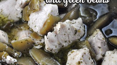 If you love a delicious recipe that is super simple to put together, then you are going to love this Ranch Crock Pot Chicken and Green Beans recipe!