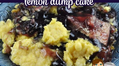 The combination of flavors in this Crock Pot Blueberry Pop Tart Lemon Dump Cake are delicious! Even better, it is so easy to make! We love it!