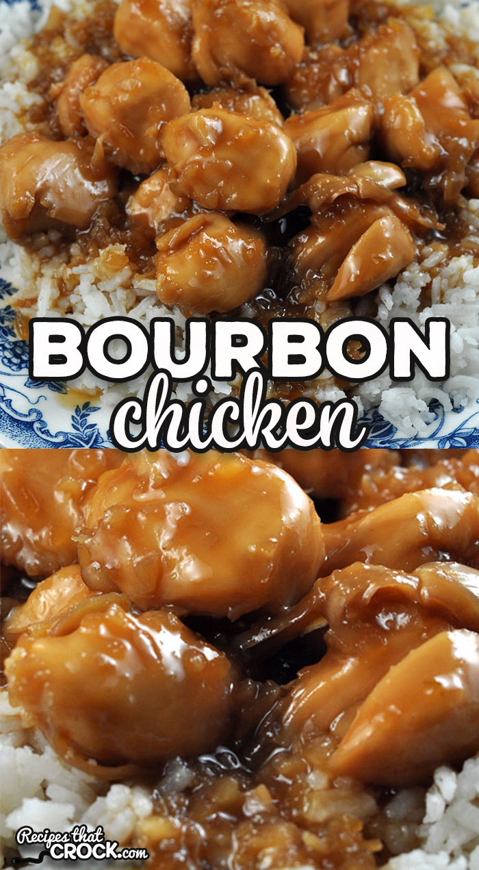 This Bourbon Chicken recipe is a stove top version of our reader favorite Crock Pot Bourbon Chicken. This is just as amazing as the original! via @recipescrock