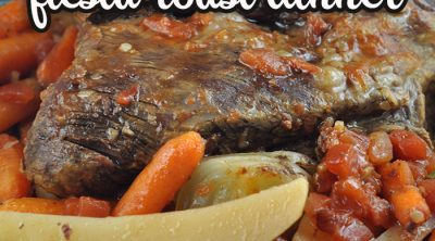 If you are looking for a one pot meal that is not the same ol' same ol', you do not want to miss this Crock Pot Fiesta Roast Dinner. It is incredibly delicious!